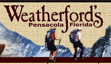 Weatherford's, outdoor store