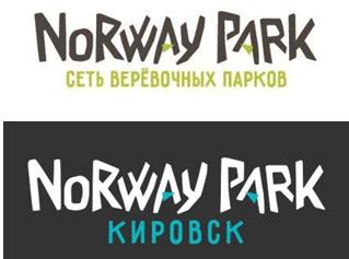 """Norway Park """"Kirovsk"""", rope park"""