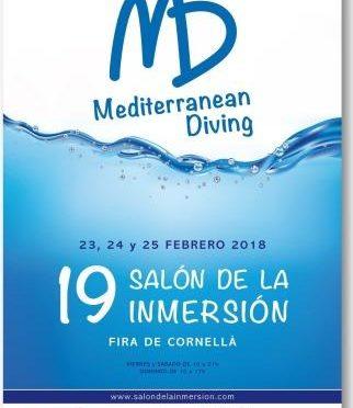 XIX Mediterranean Dive Show 2018,  23-25.02.2018